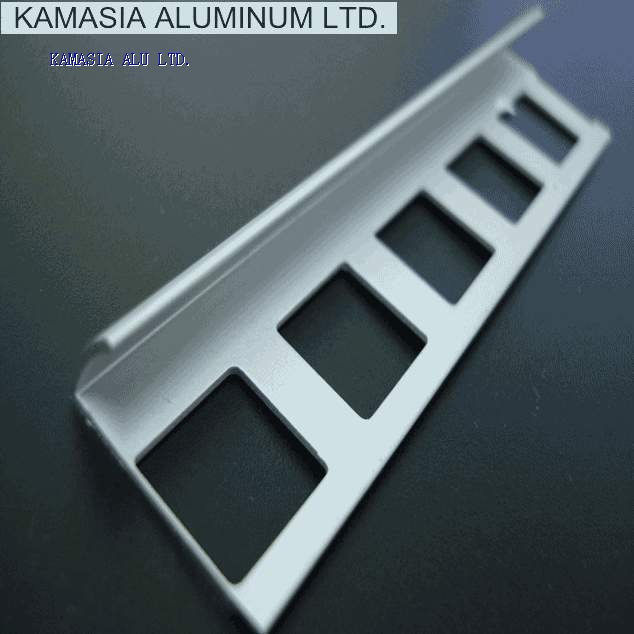 Aluminum tile trims