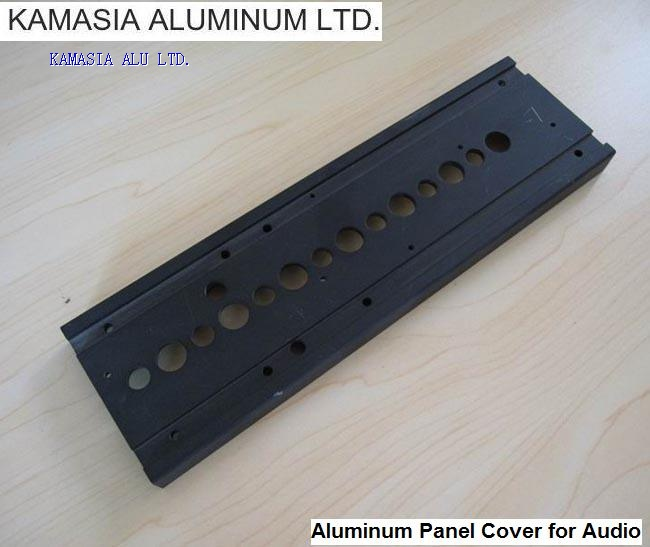 Aluminum panel and cover
